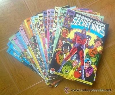 Comic Secret Wars I y II: Lote de 27 numeros - Comics Forum