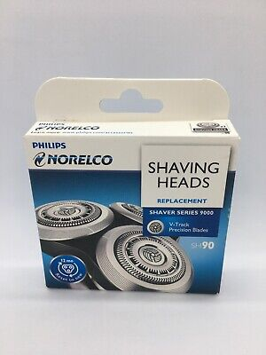 Philips Norelco SH90 Replacement Shaving Heads Genuine New Read