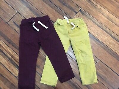 Toddler Boys Gap Denim Slim Pants Size 3t Lot Of 2.