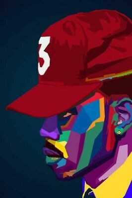 CHANCE THE RAPPER BRAND NEW HIPHOP YOUNG 24X36 POSTER CHICAGO ARTIST RAPPER USA!
