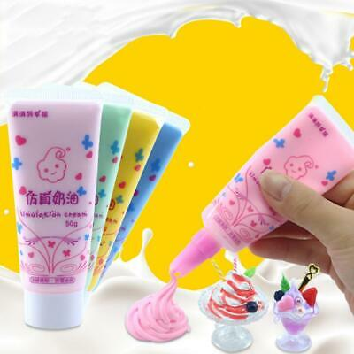 50g DIY Fake Whipped Cream Clay DIY Kawaii Cupcake Cell Phone Case Deco Den