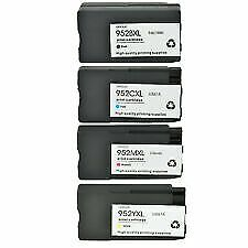 4PK 952XL Compatible Ink For HP Officejet Pro 8710 8715 8716 8720 8725 8728