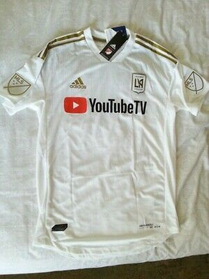 official photos dee0d fc009 $120 ADIDAS MLS LAFC Los Angeles Football Club Authentic ...