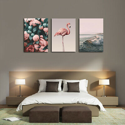 Flowers Wall Art Picture Canvas Painting Artwork for Living Room Bedroom