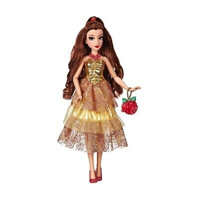 Disney Princess Style Series Belle Doll with Purse and Shoes Kid Toy Gift