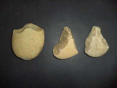 3 Neolithic hand axes from Iberian tribes ref 4.25