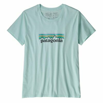 BANK HOLIDAY SALE! Patagonia Womens Pastel P-6 Logo Organic Crew T-Shirt Atol...