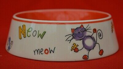 Vintage Whittards - Limited Edition Cat Feeding Bowl - Perfect Condition!