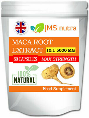 Maca Root Extract 10:1 5000mg Feminizing Breast Bum and Hip Enhancer Pills