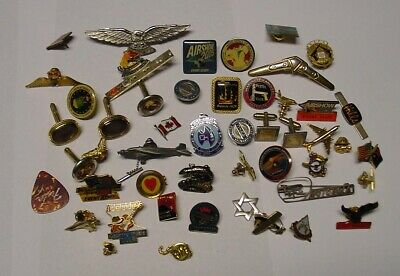 Interesting selection of modern badges, many air related.