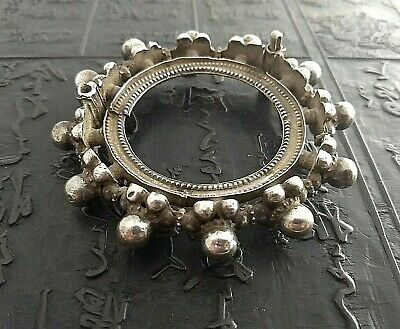 Antique or vintage India bracelet, very small wrist, between 800/925 silver