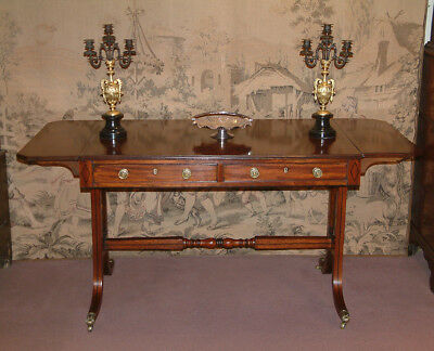 Regency period Mahogany Sofa Table c 1810.