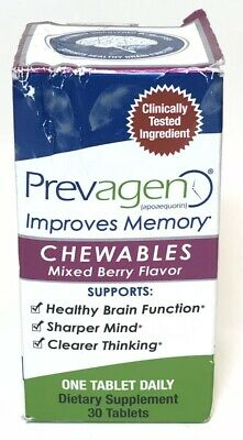 Prevagen Improves Memory Chewables Mixed Berry Flavor 30 tabs (1157)