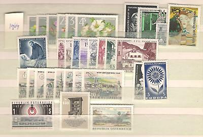 1964 MNH Austria year complete