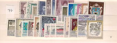 1977 MNH Austria year complete