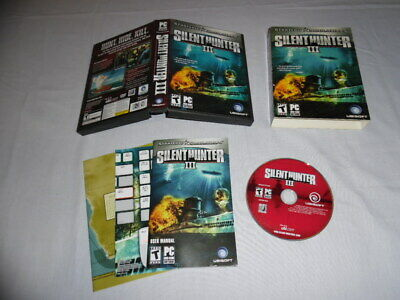 Silent Hunter III - PC DVD Computer game Complete