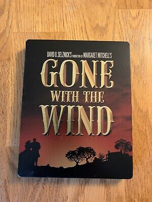Gone With The Wind (Blu-ray) Steelbook RARE