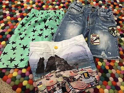 Boy's *~*ROCK YOUR BABY KID  *~* Shorts   Size 4