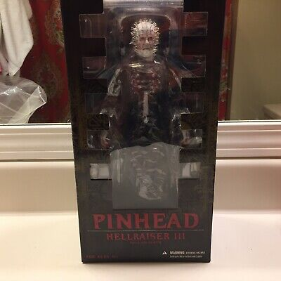 "Hellraiser III Hell On Earth ""Pinhead"" 12 Inch Action Figure SEALED Mezco"