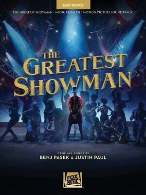 The Greatest Showman Movie Soundtrack Easy Piano (Softcover Book)