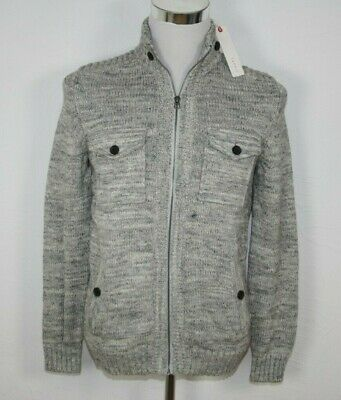 ESPRIT Grobstrick Zip-Cardigan Baumwolle grau (medium grey) NEU