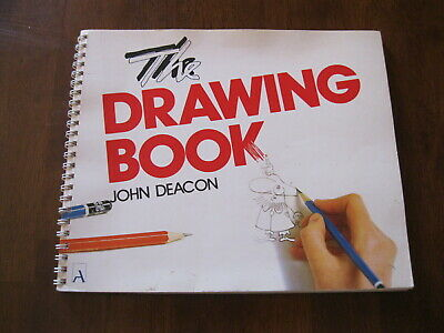 The Drawing Book By John Deacon: 1984: Inc:Figures/Animals  Preloved