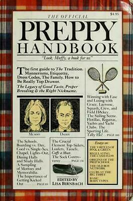 [P.D..F] The Official Preppy Handbook by Birnbach, Lisa FAST DELIVERY