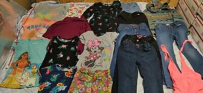 EXCELLENT BACK TO SCHOOL✓Girls Clothes Size 5 Lot Of 18 Pieces