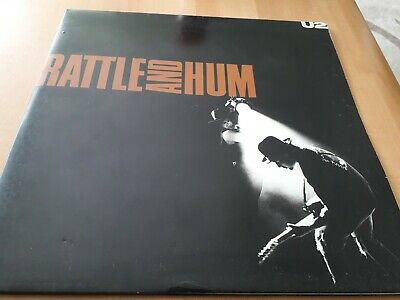 U2 - Rattle And Hum - Island Records (U 27) Gatefold Double Vinyl LP Album u27 a