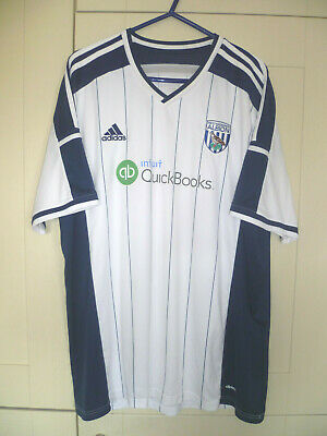 West Bromwich Albion - Vintage/Retro 2014-15 Season Home Shirt (2Xl)