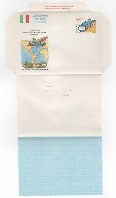 1990 ITALY Aerogramme Cover LIVORNO'90 Air Thematic Exhibition UNUSED Stationery
