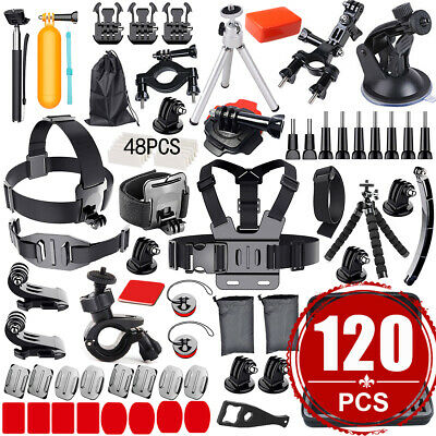 Camera GoPro Accessories Kit Action Camera Mount Accessory Set Bundle Sports UK