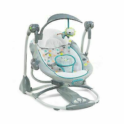 Ingenuity 10215-3-W11 ConvertMe Ridgedale Swing-2-Seat 5-point Harness - Gray