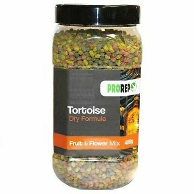 PROREP TORTOISE DRY FORMULA FRUIT & FLOWER FOOD PELLETS 400g 5055312370711