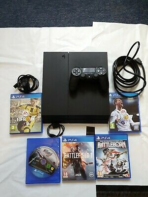 Sony PlayStation 4 - PS4 500GB - Console with Wireless controller and 5 games
