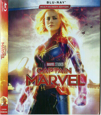 Captain Marvel 2019 Blu-Ray Brand New & Sealed , Fast & Free Postage