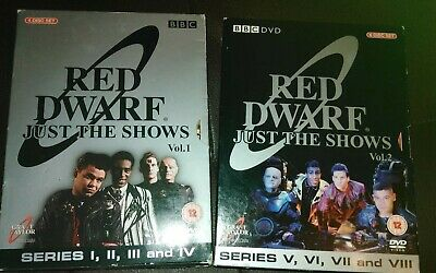 Red Dwarf DVD Series 1 - 8 Just the Shows Boxed Set, Craig Charles, Chris Barrie