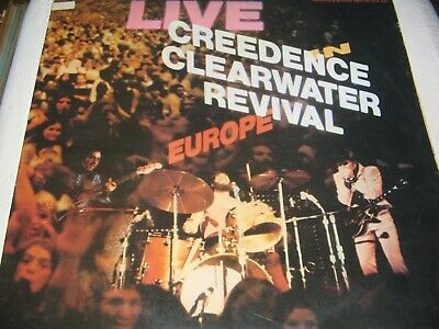Creedence Clearwater Revival – Live In Europe GATEFOLD 2LP