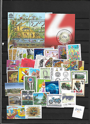 2002 MNH Austria year complete