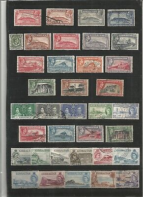 Gibraltar - Used Collection on 6 pages