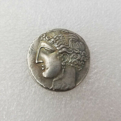 Ancient Alexander III The Great Greek Coin Rare Coin collection Silver Plated