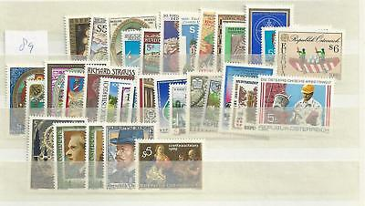 1989 MNH Austria year complete