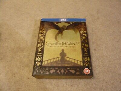 Game Of Thrones , Complete Fifth Season  , Blu Ray , Box Set ....4 Disc ...