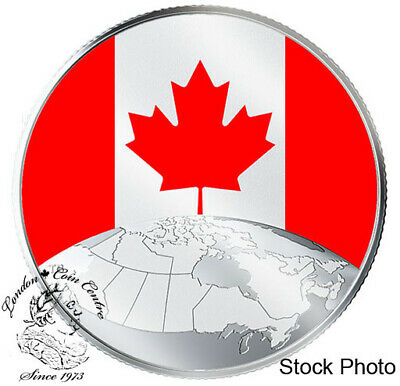 Canada 2019 $5 This is Canada! Pure Silver Glow-in-the-Dark Coin