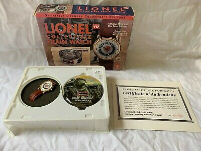 Lionel Collection Train Watch - Collector's Edition - Motion & Real Sound!