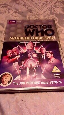 Doctor Who Dvd Spearhead From Space
