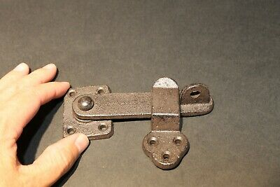 Antique Vintage Style Cast Iron Door Gate Lock Latch Hardware