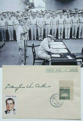 General Douglas MacArthur Autograph Signed Envelope General Of The Army