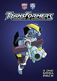 Transformers: Robots in Disguise (3 DVD Mega Pack), Good, DVD, FREE & FAST Deliv