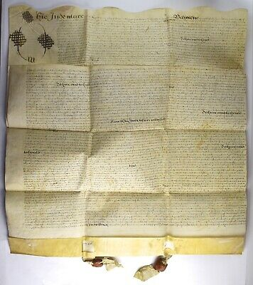 Antique 1651 English Indentured Servant's Agreement - NO RESERVE SC-24 Vellum